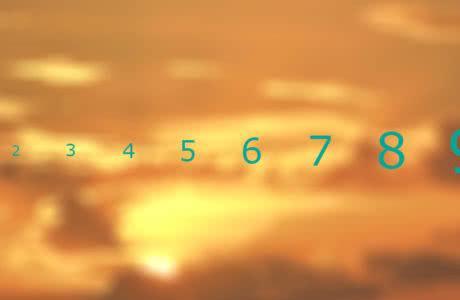 Сравнение натуральных чисел