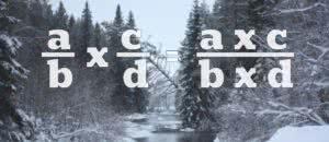 Умножения рациональных чисел, математика, примеры